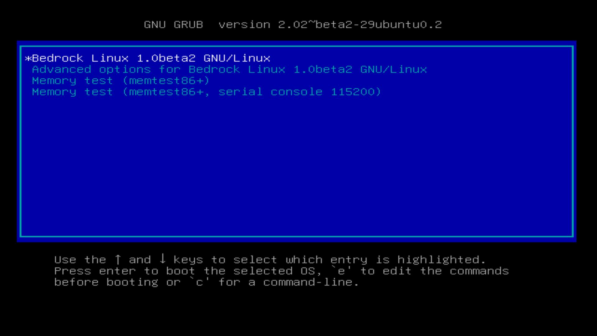 Bedrock Linux 1 0beta2 Nyla Major Features